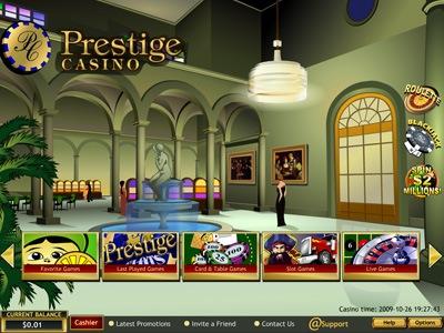Prestige casino 1500 free