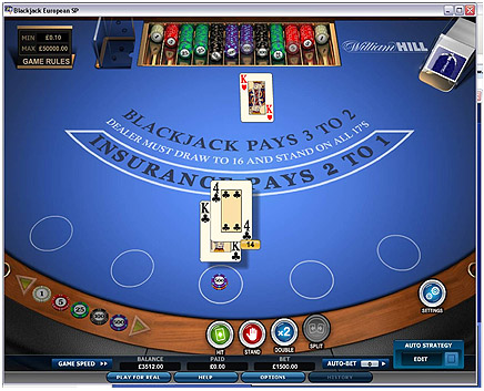 william hill casino club play for fun